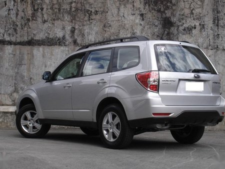 Silver Subaru Forester for sale in Quezon City