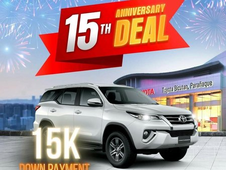 Sell Silver Toyota Fortuner in Parañaque