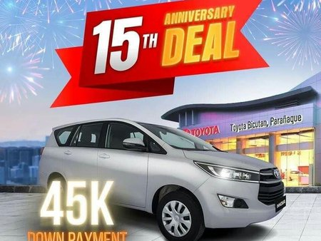 Silver Toyota Innova for sale in Makati