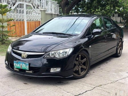Black Honda Civic 2008 for sale in Manila