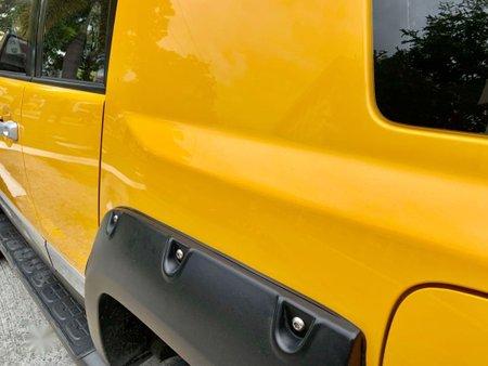 Sell Yellow Toyota Fj Cruiser in Manila