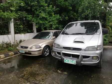 Hyundai Starex 1999 + Honda Civic Vti 1996