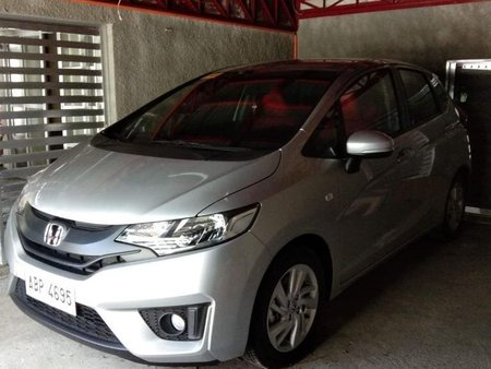 Silver Honda Jazz 2015 for sale in Paranaque City