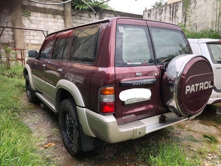 Red Nissan Patrol 2001 for sale in Malolos City