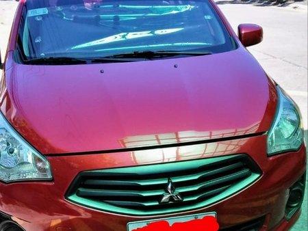 Selling Red Mitsubishi Mirage g4 2015 in Kalayaan