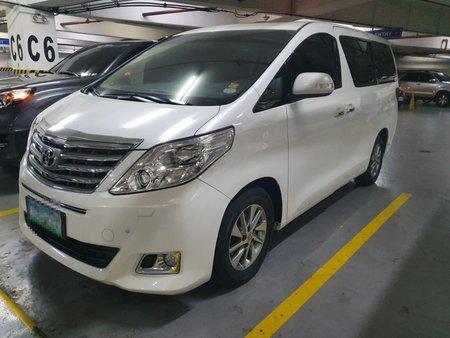 2012 Toyota Alphard 2.4v