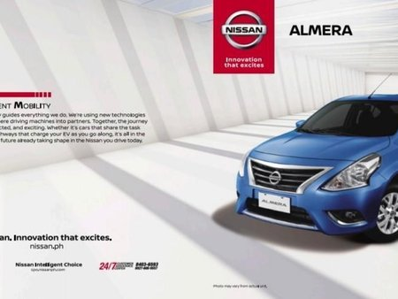 Selling Blue Nissan Almera in Parañaque