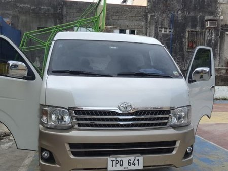 Sell Silver 2012 Toyota Hiace in Muntinlupa