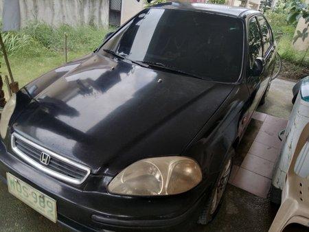 Black Honda Civic 1998 1.6Ltr SLR Automatic