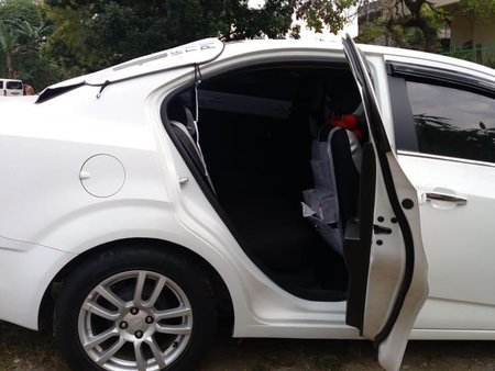 White Chevrolet Sonic for sale in Quezon City