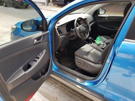 Blue Hyundai Tucson for sale in Manila