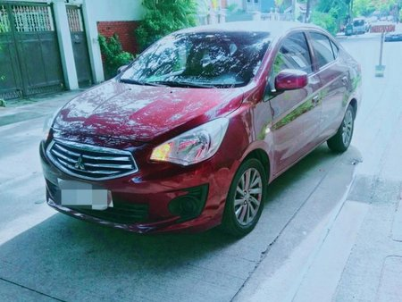 Red Mitsubishi Mirage g4 for sale in Manila