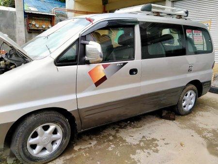 Silver Hyundai Starex for sale in Manila