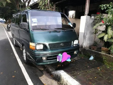 Sell Green Toyota Hiace in Quezon City