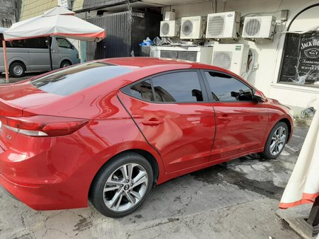 Red Hyundai Elantra 2016 for sale in Parañaque