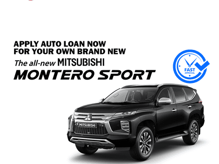 EAZY LOAN - 2020 Brand New Mitsubishi Montero Sport