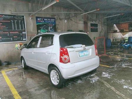 Silver Kia Picanto for sale in Manila