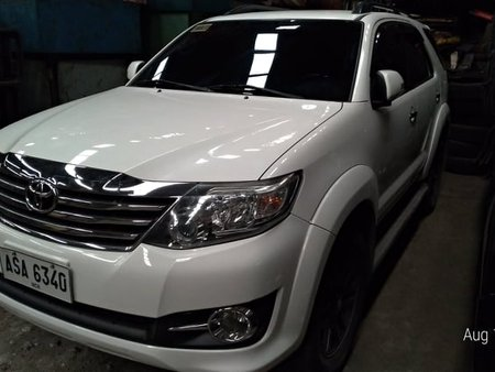 Toyota Fortuner G GAS 2015 AT