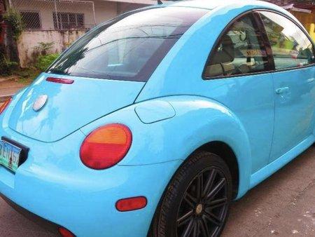 Blue Volkswagen New Beetle 2000 for sale in Quezon City