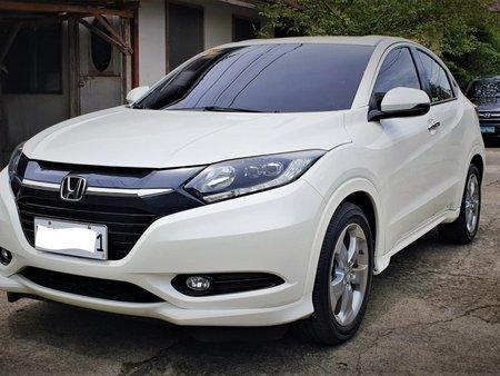 Pearl White Honda HR-V 2016 EL Modulo for sale