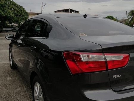 Grey Kia Rio 2014 for sale in Laguna