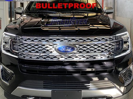 Brand New 2020 Ford Expedition Bulletproof Level 6 INKAS Canada Armored Bullet Proof not Escalade