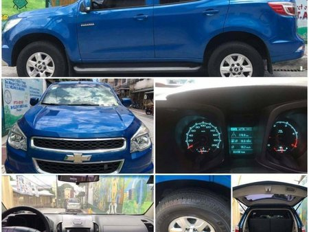 Sell Blue 2014 Chevrolet Trailblazer in Quezon City