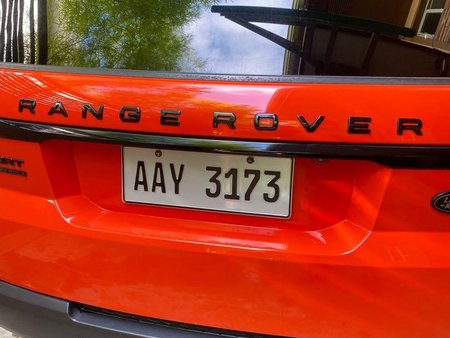 Orange Land Rover Range Rover Sport for sale in Pasig