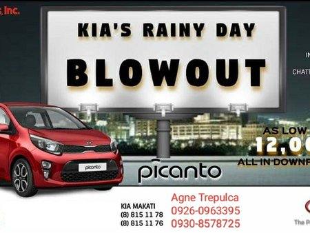 Kia Picanto for P12,000 All-in Downpayment!!!