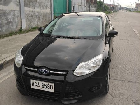 Black Ford Focus 2014 for sale in Quezon City