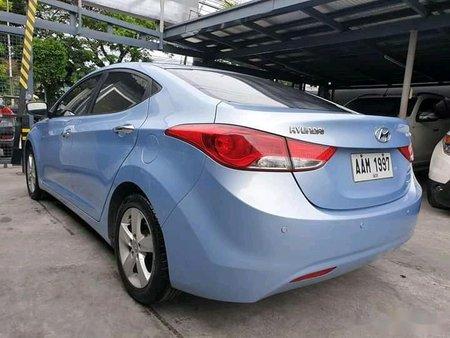 Blue Hyundai Elantra 2014 for sale in Manila