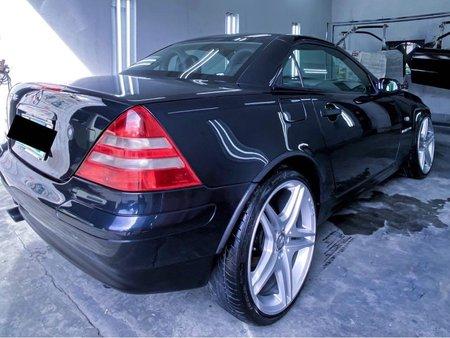 Black Mercedes-Benz SLK 230 R170 2000 for sale in Lipa City
