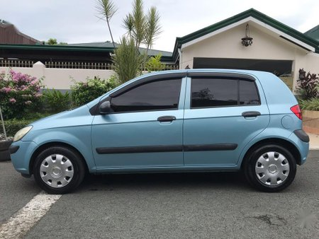 Sell Blue Hyundai Getz in Quezon City