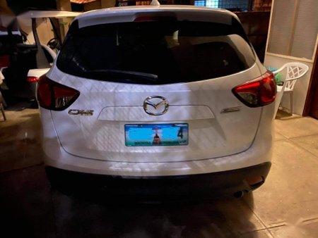 Pearl White Mazda Cx-5 for sale in Quezon City