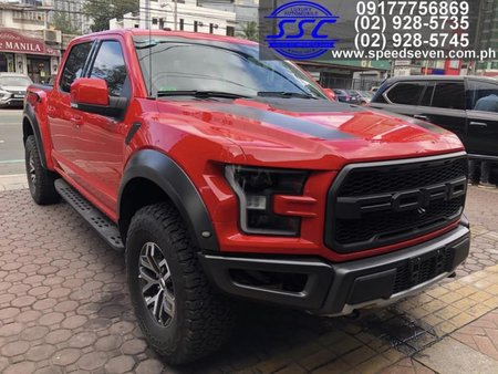Brand New 2021 Ford F-150 Raptor (802A Top of the Line) F150 F 150 Race Red not 2020