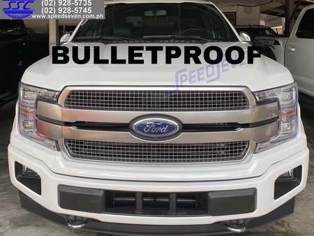 Brand New 2020 Ford F150 Bulletproof Level 6 Platinum 4x4 Armored Bullet Proof Armor Star White