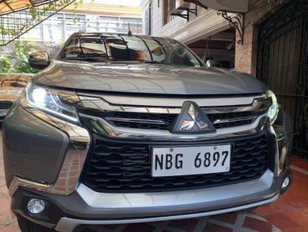 Selling Grey Mitsubishi Montero sport in Muntinlupa