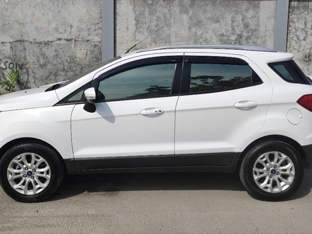 Selling Pearl White 2015 Ford EcoSport in Quezon City