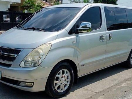 Selling Silver Hyundai Grand Starex 2011 in Manila