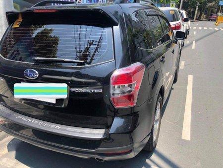 Black Subaru Forester 2015 for sale in Valenzuela