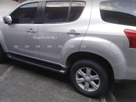 Silver Isuzu Mu-X 2015 for sale in Manila