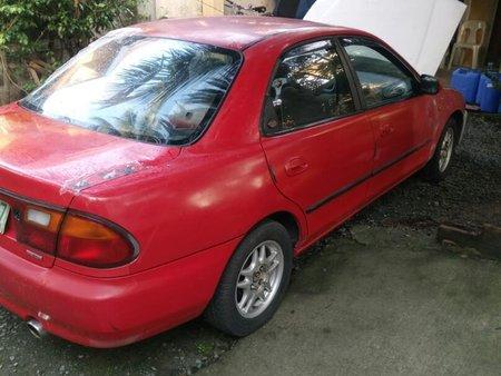 Sell Red Mazda Protege 1996 in Valenzuela
