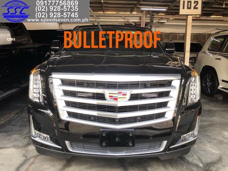Brand New 2020 Cadillac Escalade Bulletproof INKAS Canada Level 6 ESV Platinum Bullet Proof Armored