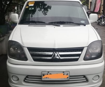 2017 Mitsubishi Adventure with grab registered