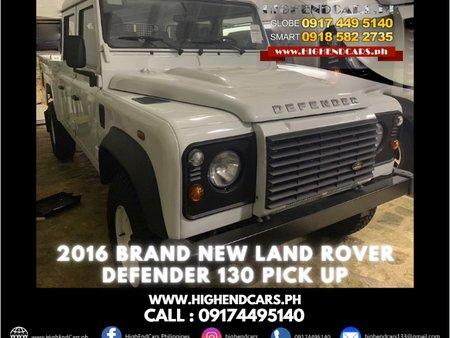 2016  BRAND NEW LAND ROVER DEFENDER 130 PICK UP