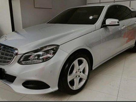 Selling Silver Mercedes-Benz E-Class 2014 in Quezon City