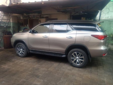 Sell Silver 2016 Toyota Fortuner in Quezon City
