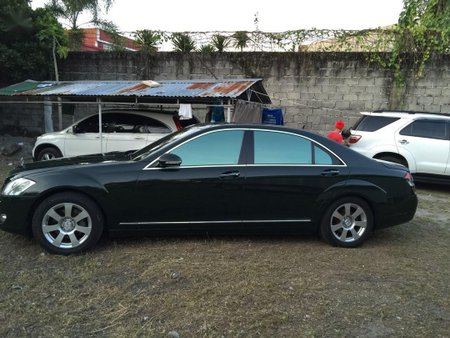 Black Mercedes-Benz S-Class 2006 for sale in Muntinlupa