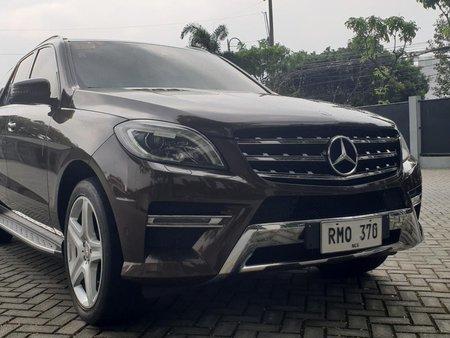 2014 Mercedes Benz ML 350 CDI. - AMG sports