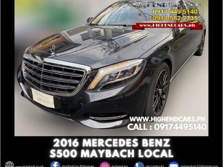 2016 MERCEDES BENZ S500 MAYBACH